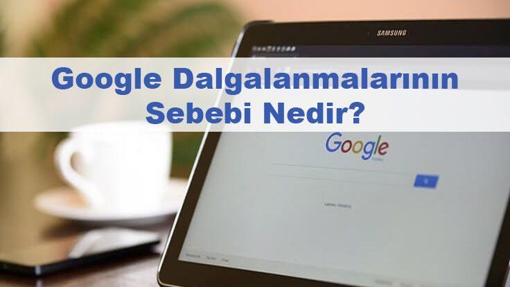 Google Dalgalanmalarının Sebebi Nedir?